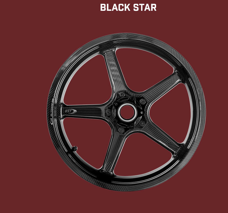 BST Carbonfelge Black Star