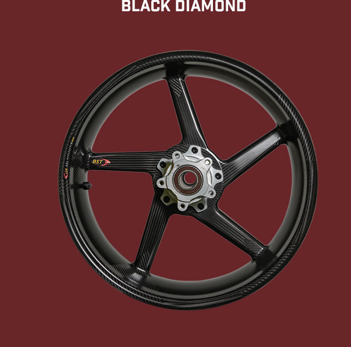 BST Carbonfelge Black Diamond