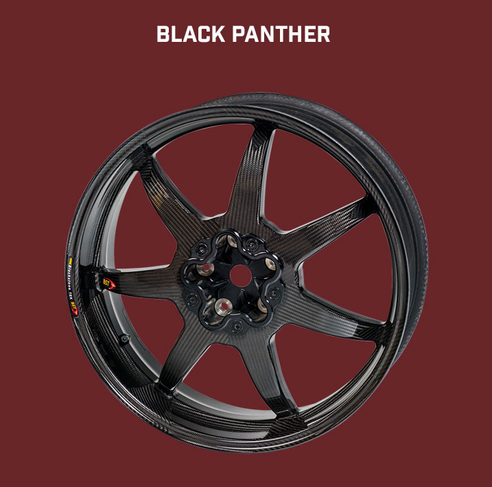 BST Carbonfelge Black Panther