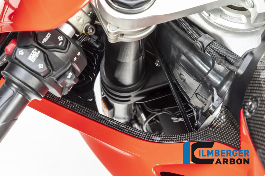 Windkanalabdeckung links glanz Panigale V4 / V4 S